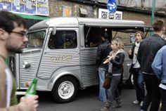 Cwtch Citroen HY coffee truck