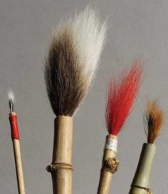 How to Make Homemade Pottery Brushes to Make Marks that Are Truly Your Own - Ceramic Arts Network - There are countless types and styles of brushes on the market that can be used in the pottery studi - Ceramic Brush, Ceramic Tools, Ceramic Clay, Ceramic Pottery, Pottery Art, Slab Pottery, Ceramic Techniques, Pottery Techniques, Homemade Art
