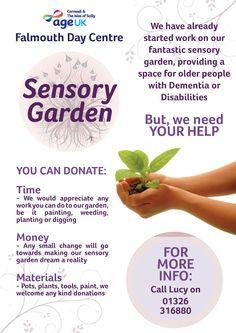 how to make a sensory garden