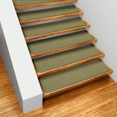 Set of 15 Skid-resistant Carpet Stair Treads - Olive Green - 6 In. X 23.5 In. - Several Other Sizes to Choose From, http://www.amazon.com/dp/B008PI8X3K/ref=cm_sw_r_pi_awdm_Nm4uwb14Z1E96