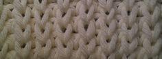 Half patent - achterkant Knitting Stitches, Merino Wool Blanket, Blog, Half, Knitting Patterns, Knit Stitches, Loom Knitting Stitches, Knitting