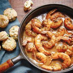 My Easy Barbecue Shrimp from Emerils.com A local favorite.