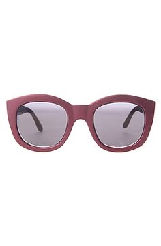 The Runaway Sunglasses in Matte Violet by Le Specs  $41.95 SALE