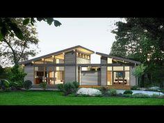 10 Diseños de casas de campo con planos y fachadas - YouTube