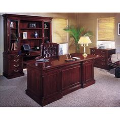 FREE SHIPPING! Shop Wayfair for DMI Office Furniture Keswick Standard Desk Office Suite - Great Deals on all Furniture products with the best selection to choose from!
