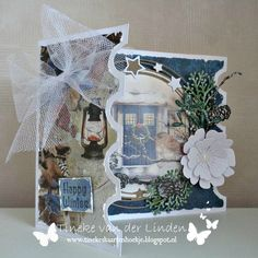 Ticket Card, Merry Christmas Card, Marianne Design, Studio Lighting, Snowman, Table Decorations, Winter, Frame, Happy