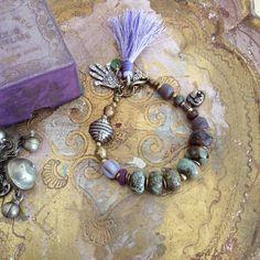 Boho gypsy bracelet @ OmSaha www.omsaha.etsy.com