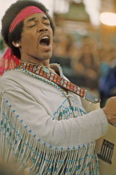 """On Monday morning, August 18, 1969, the last day of the Woodstock Festival, headliner Jimi Hendrix closed his two hour set by performing a searing rendition of """"The Star Spangled Banner"""" on his electric guitar."""