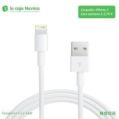 Consigue un cargador de iPhone 5 por solo 3,79 € con La Caja Técnica. Síguenos y comparte esta publicación. Promoción válida para nuestros seguidores hasta el 10 de agosto de 2014