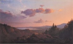 'View of the Hudson River Valley from Olana' by Frederic Church