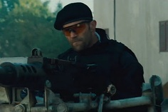 "Panerai in movie - Jason Statham in ""The Expendables 2"""