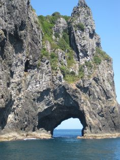 The Hole in the Rock, Bay of Islands, New Zealand