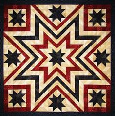 Quilters Compass - Shons Sawtooth Star Quilt.jpg