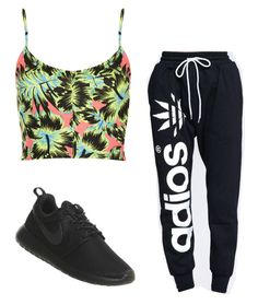 """Untitled #422"" by kylanboykin ❤ liked on Polyvore featuring ZooShoo, Topshop and NIKE"