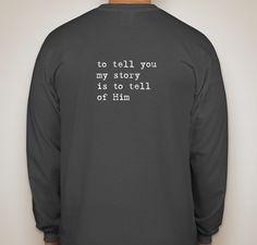 My Journey to Wellness Fundraiser - unisex shirt design - back