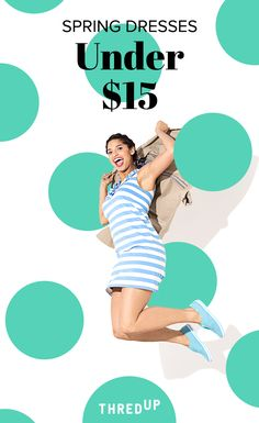 Save on dresses. Splurge on brunch. At thredUP, shop all your favorite brands at up to 90% off retail price. It's your solution to fashion on a budget, and another way to save big so you can spend more on what you love doing most. And sometimes that means heavy brunching with the girls.  Sign up today.