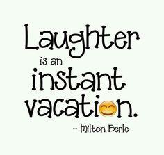 Vacation laugh!