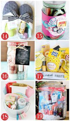Christmas Gift Basket Ideas for Women