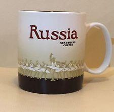 16oz Starbucks Coffee Global Icon Series City Mug Russia NEW #starbucks #globalicon #coffeemugs