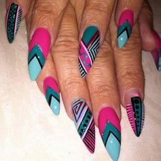 The Best Design for the Summer of 2018 for Nails in the Egyptian Style Sexy Nails, Dope Nails, Fancy Nails, Stiletto Nails, Fabulous Nails, Gorgeous Nails, Pretty Nails, Nail Swag, Art Afro