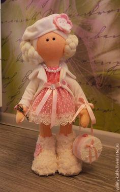 Коллекционные куклы ручной работы. Ярмарка Мастеров - ручная работа Текстильная куколка Анабель. Handmade.