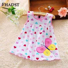 FHADST 2017 Cute Vestido infantil Baby Girl Dress Cotton Regular Sleeveless Dresses Casual Clothing Minin Princess Months - Kid Shop Global - Kids & Baby Shop Online - baby & kids clothing, toys for baby & kid Baby Shop Online, Baby Girl Dresses, Baby Girls, Princess Dresses, Kids Girls, Baby Boy, Baby Girl Fashion, Toddler Dress, Kids Outfits