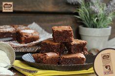 Brownie de chocolate y coco