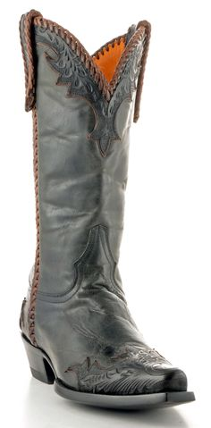 old gringo men diego | Mens Old Gringo Porfirio Boots Mad Dog Black And Chocolate #M276-4