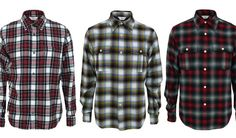 example of a plaid shirt - for guys only (not to be worn but tied around the waist)