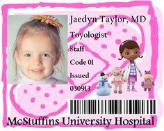 Doc McStuffins Birthday - Badges