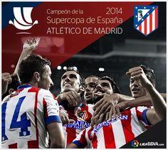 Atletico de Madrid Campeón Supercopa de España 2014.