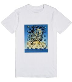 """Salvador Dali t-shirt 1 Check+out+my+new+design+on+@skreenedT-shirts make a fabulous gift at any time of the year. An """"artistic"""" shirt which features a painting from an """"Old Master"""" stands out. $35.99"""