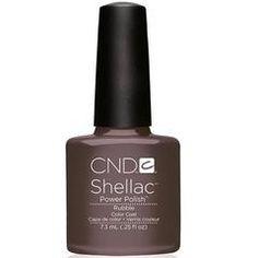 CND Creative Nail Design Shellac - Rubble Color