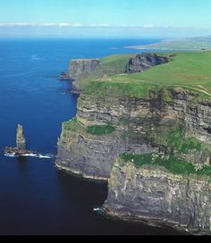 Ireland - Cliffs - of - Moher  I want to see this.