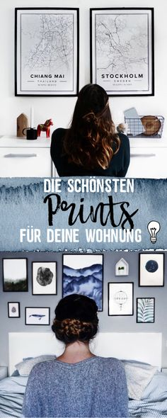 The most beautiful prints for your apartment. Pictures, Picture Frames, Picture Wall, Gesc … - Home Decoration Picture Wall, Picture Frames, Photo Wall, Home Decor Quotes, Home Decor Pictures, Foto Poster, Home Decor Paintings, Diy Décoration, Hallway Decorating