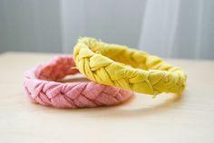 Smitten and Hazel » DIY: Fabric braid bracelet