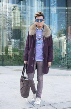Statement Coats at Toronto Fashion Week: Alex
