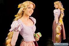 Rapunzel Wig Tutorial by echoing-artemis.deviantart.com