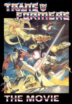Transformers: The Movie 11x17 Movie Poster (1986)