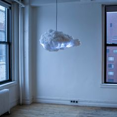 The Cloud: Interactive Lamp by Richard Clarkson Studio | Inspiration Grid | Design Inspiration