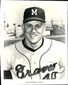 Tony Cloninger great hitting pitcher