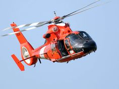 HH 65 Dolphin US Coast Guard Helicopter