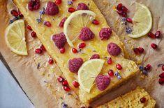 Chec vegan cu lamaie - rapid si delicios Sugar Free Desserts, Grapefruit, Pizza, Foods, Sugar Free Deserts, Food Food, No Sugar Desserts