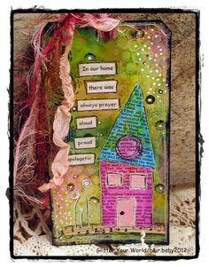 Mixed media tags, plaques, switchplates, etc.