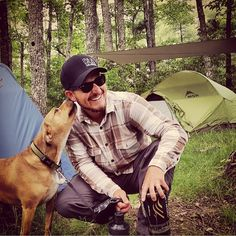 Probably the best moment of camping... Your dog telling you thank you the only way a dog knows how to. #campingwithdogs @jonphillips55
