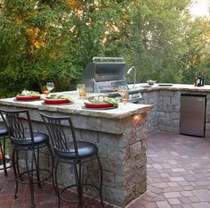 Outdoor Kitchen Planning #outdoorkitchen #outdoor #kitchen #patio #cherylkhan