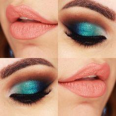 https://www.youtube.com/watch?v=SshQ8dgly0k - Maquiagem com Degradê de Cores Sereia e Cut Crease