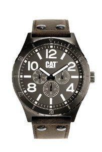 Special Offers Available Click Image Above: Cat Mens Camden Chronograph Stainless Watch - Black Leather Strap - Black Dial - Amazing Watches, Beautiful Watches, Camden, Rolex Watches, Watches For Men, Wrist Watches, Silver Wall Clock, Cat Watch, Totoro