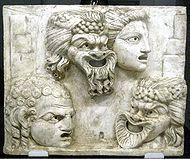 Klassiek acteur Theodoros onthult.  'Theater' is het thema van de Week van de Klassieken 2013