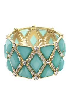 Triangle & Rhombus Combo Bracelet by RM Manufacturing Co. on @HauteLook